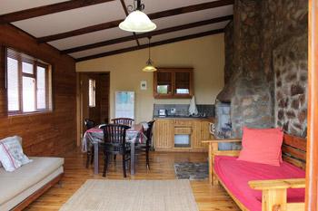 Cabin Inside Illustration